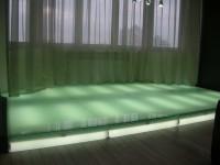 Стеклянный пол